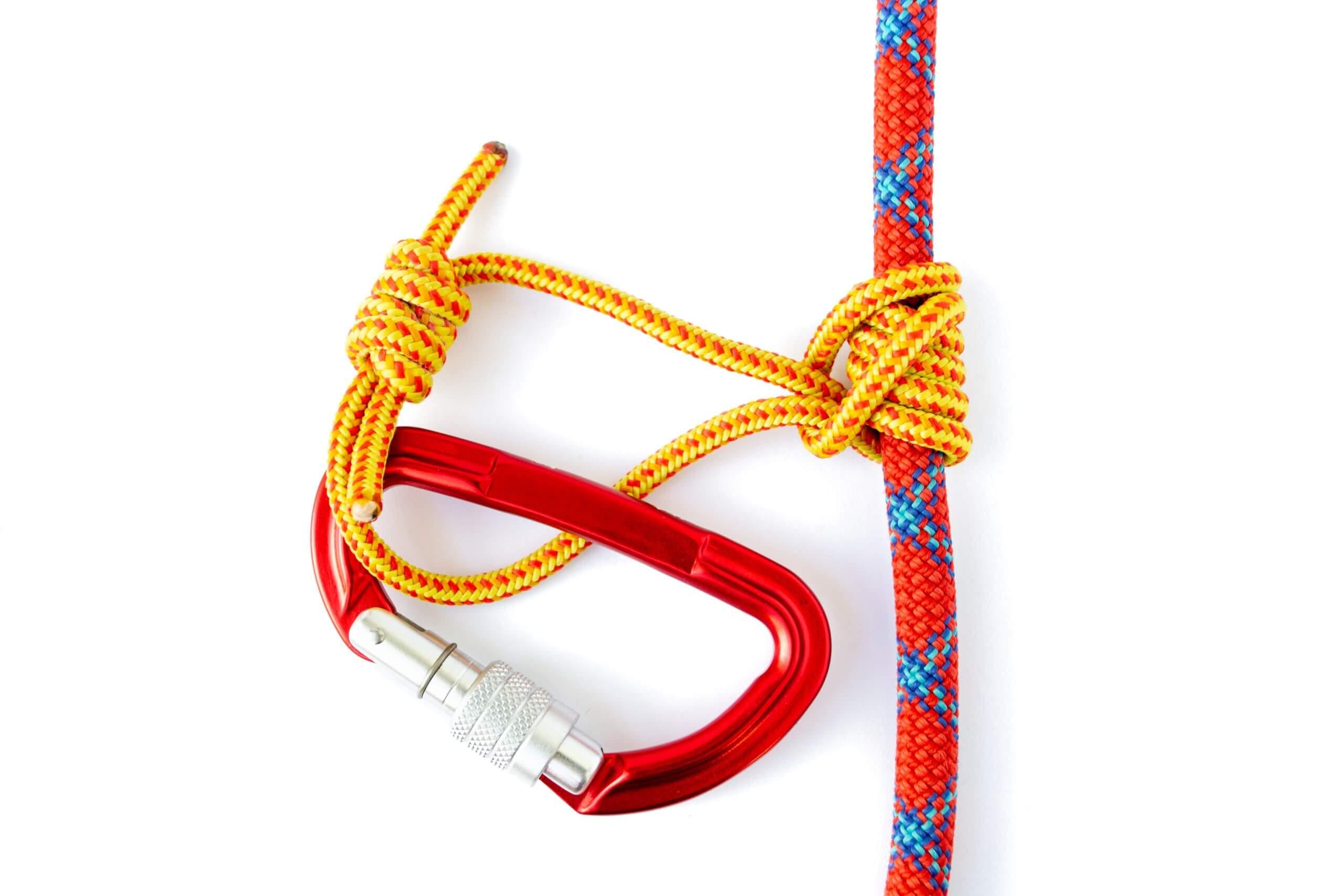 cordistes désamianteurs mousquetons et cordes